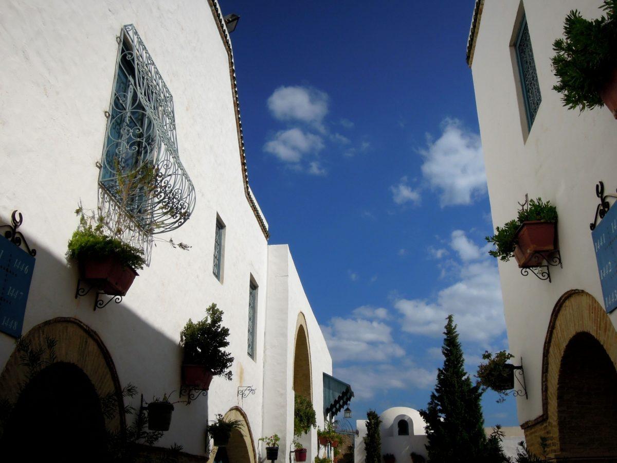 チュニジアの街並み