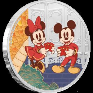 ディズニー:子年「寿」 2ドル銀貨(ニウエ:2020年)